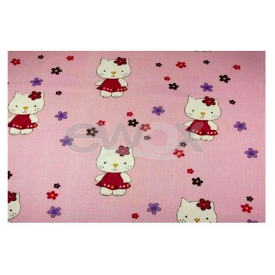 Pieluszka tetra 70x80 Hello Kitty